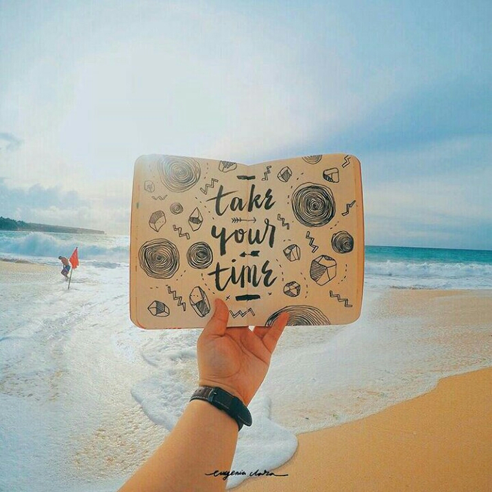 Tome seu tempo.
