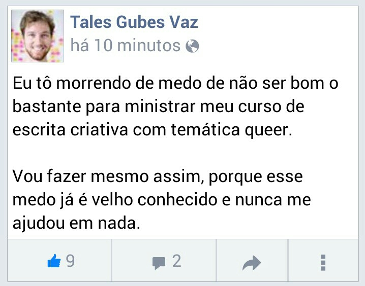 Do maravilhoso  Tales Gubes .
