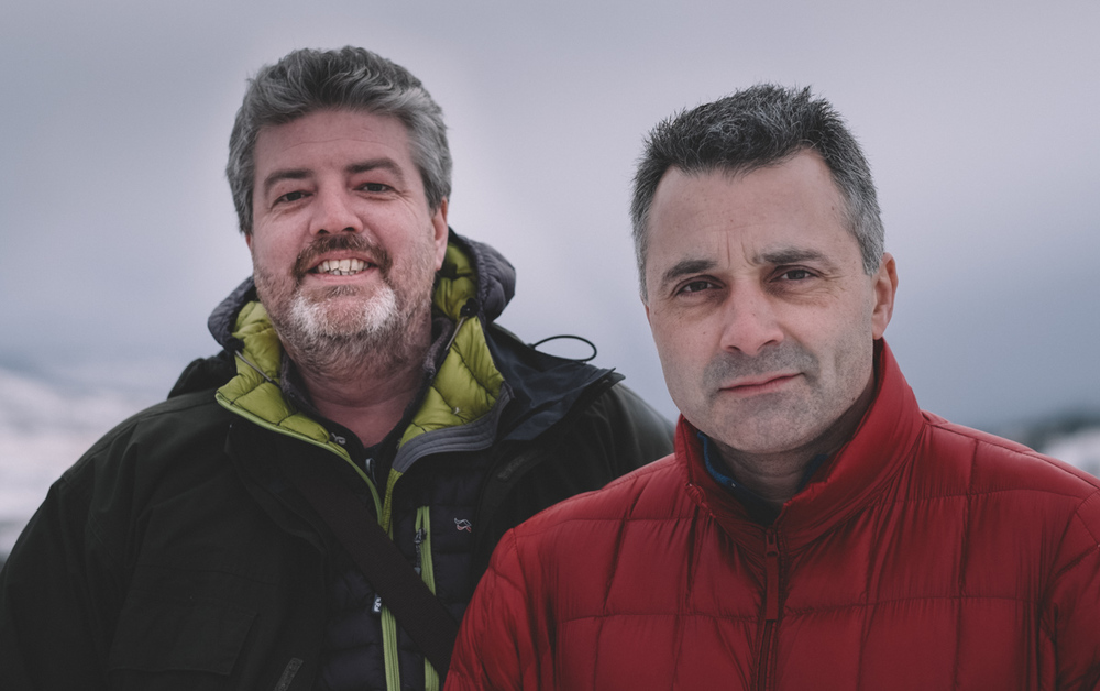 Rob Hudson & Matt Botwood, January 2015