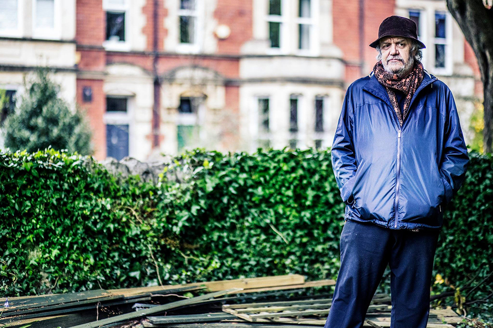 Chalkie Davies, Cardiff 2015. © Rebecca Thomas