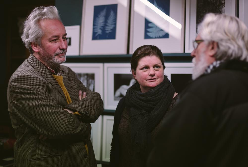 Dave 'Paddy', Eleri and Emyr in Tilt & Shift, Llanrwst