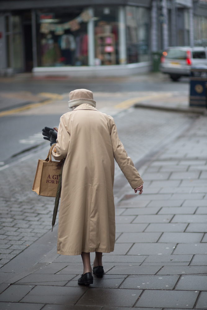 Old Woman on street