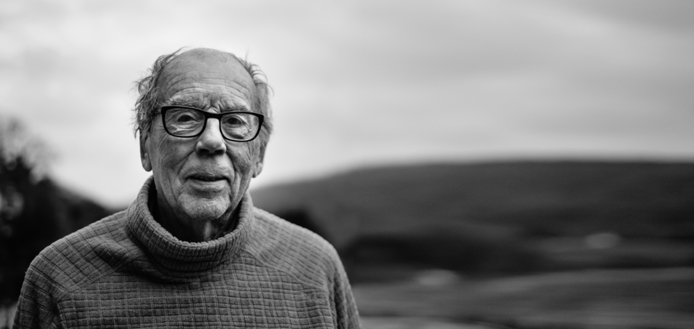 David Hurn at home in Tintern, Wales. © Brian Carroll