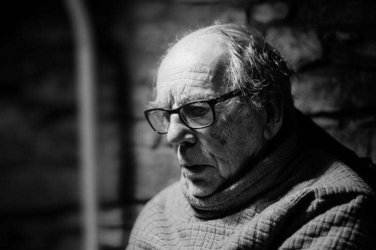 David Hurn, Magnum Photographer. © Brian Carroll