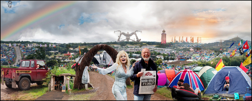 Glastonbury. Image © Jill Furmanovsky