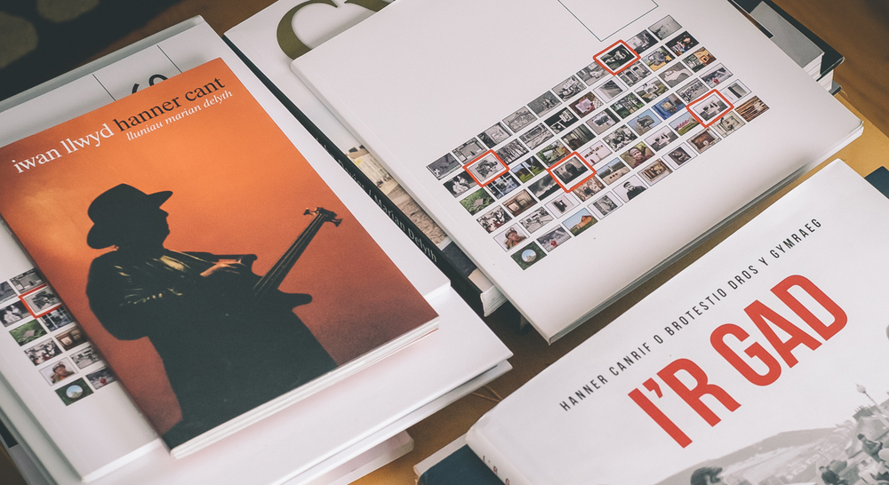 A selection of published books using Marian's photography