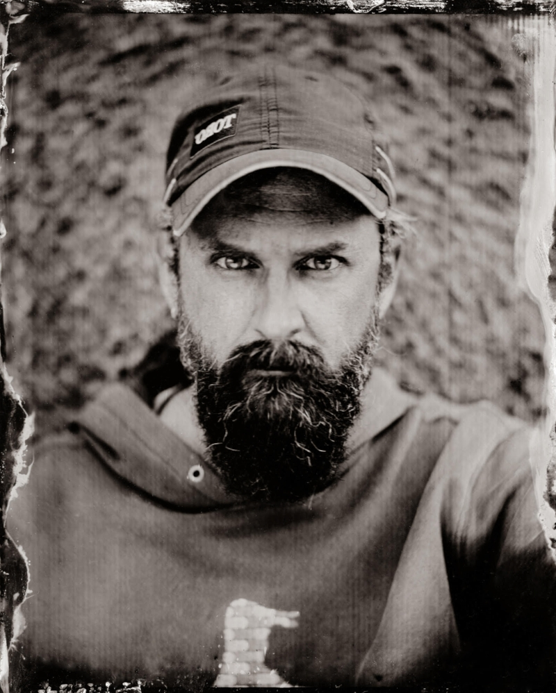 Al Brydon Collodion Image by Alastair Cook