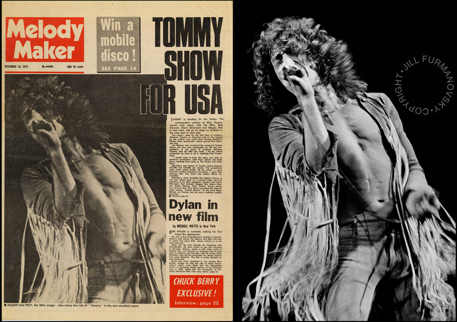 1972 Dec MM The Who Tommy cover