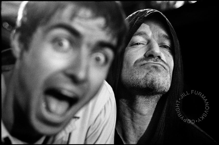 Liam from Oasis & bono, 1996