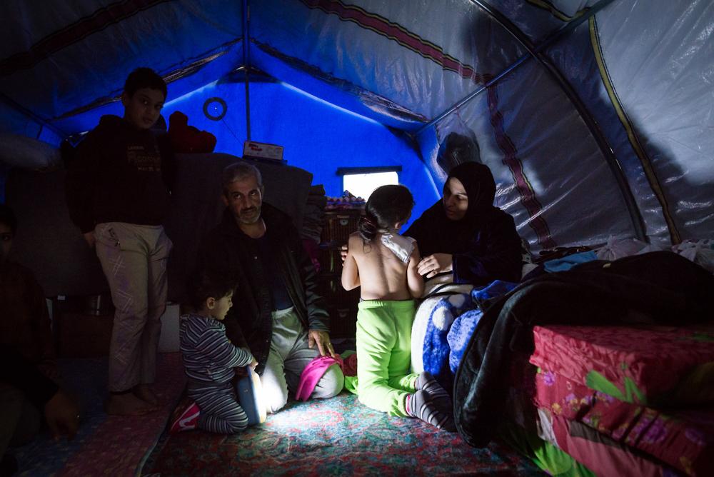 HASSAN SHAM 3 CAMP, IRAQ
