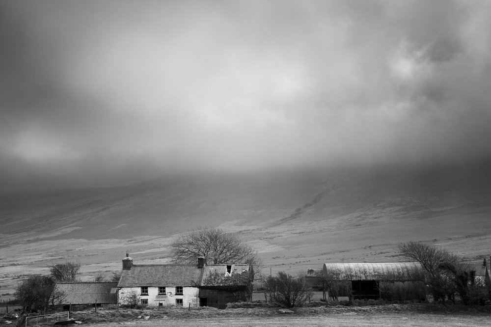 Abandoned Farm, Preseli Hills, Pembrokeshire