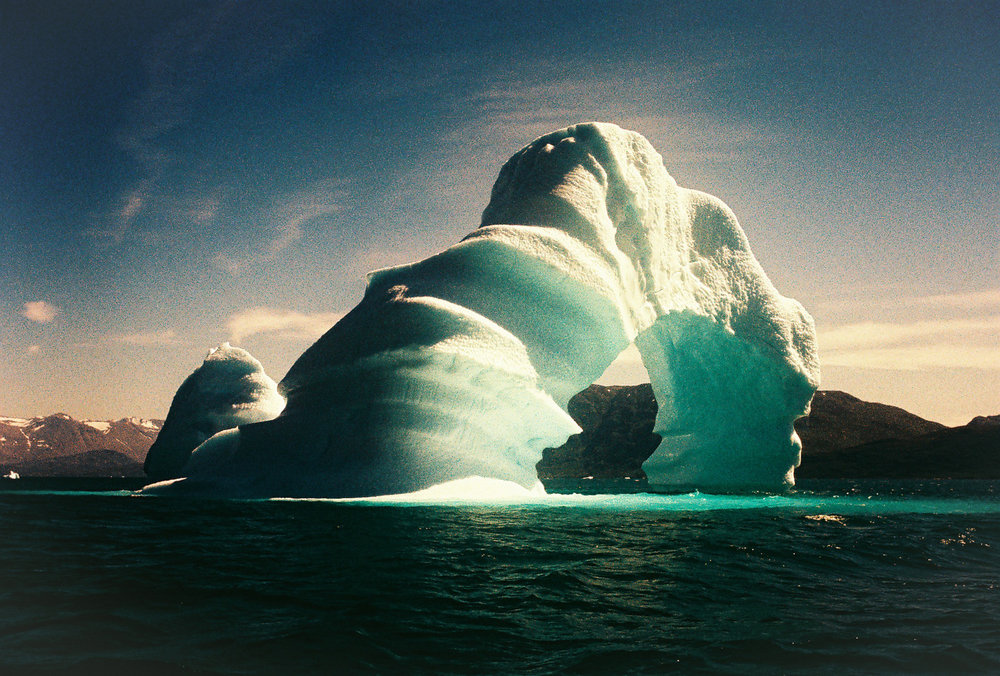 Iceberg. Greenland. Leica M6. Fuji rpv Velvia 100 color film..jpg
