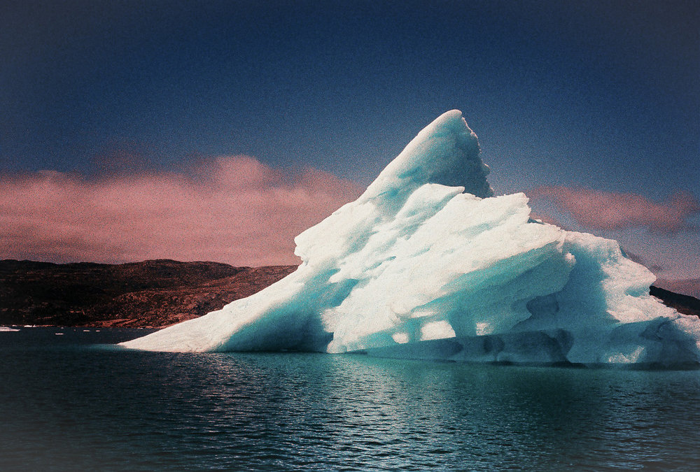 Iceberg. Greenland. Leica M6. Fuji rpv Velvia 100 color film.jpg