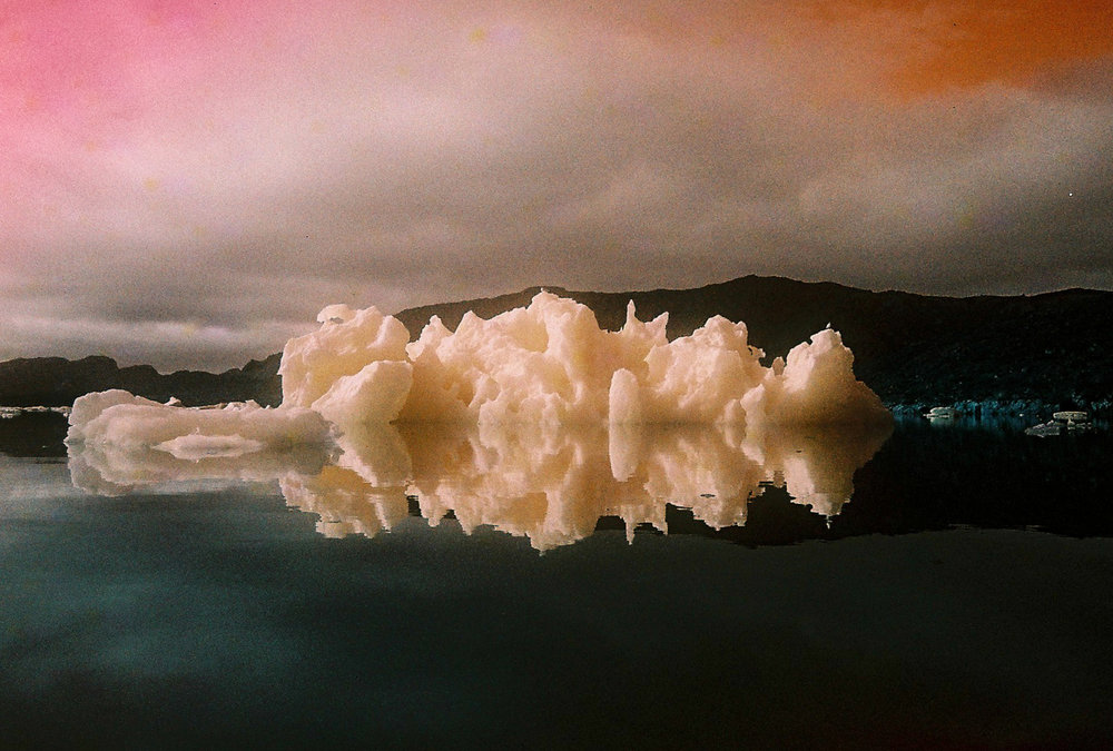 Iceberg. Narsaq. Greenland. Leica M6. Lomochrome 100-400 turquoise film.jpg