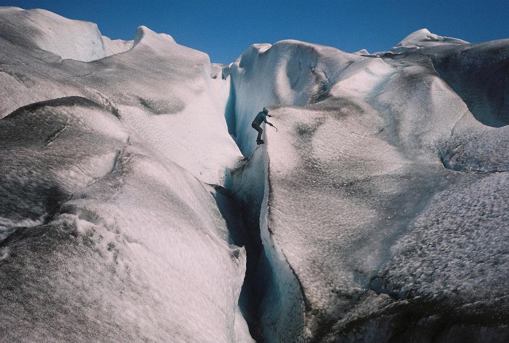 Qarelagdlit imâ Glacier. Greenland. Leica M6. Fuji Reala 100 color film..jpg