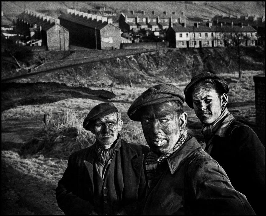W. Eugene Smith's iconic image of 3 generations of miners captured in the south Wales valleys in the 1950's