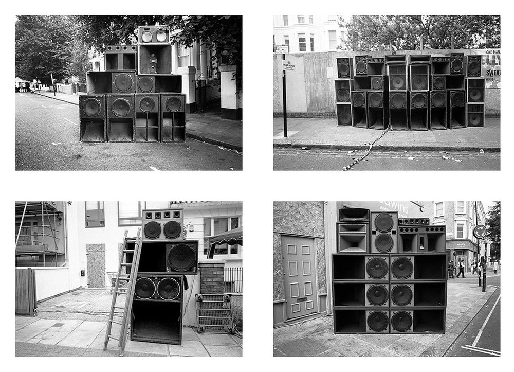 Notting Hill Sound Systems - © Copyright Brian David Stevens