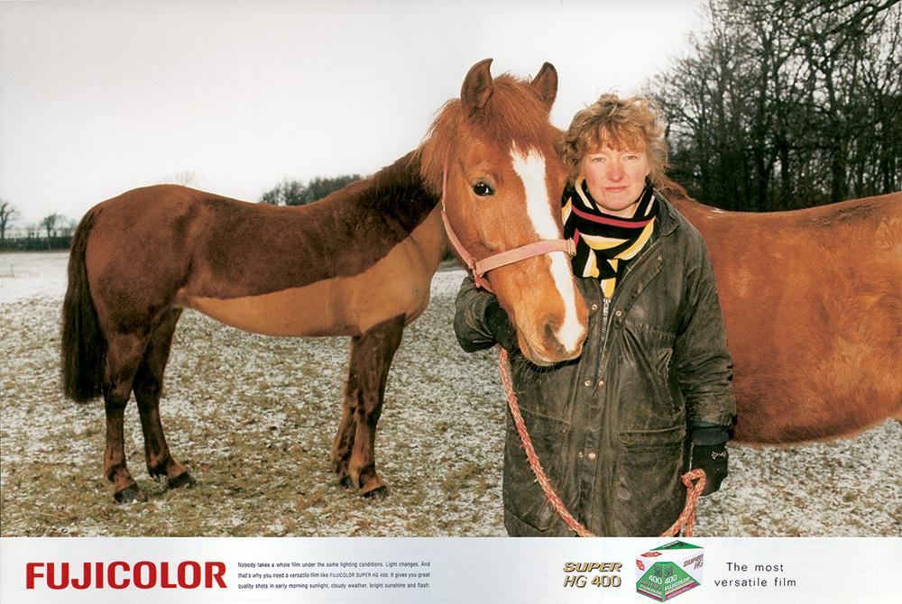 Fujicolor Horse Ad