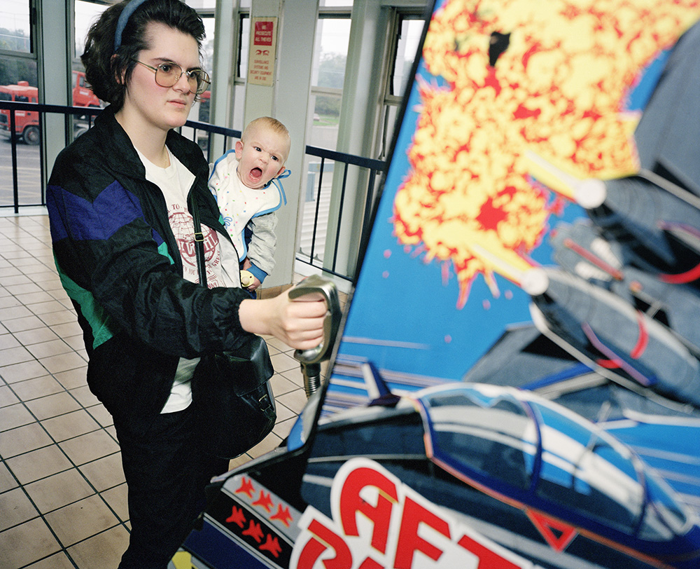 Baby and Video Game