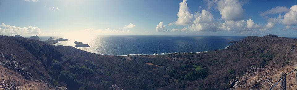 O primeiro mirante da trilha do Capim-Açu.