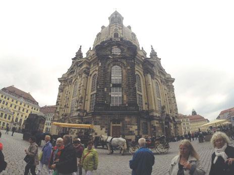 Frauenkirche hoje, completamente reformada.