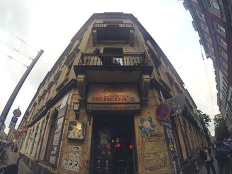 Pub Hebeda's, o mais antigo da cidade.