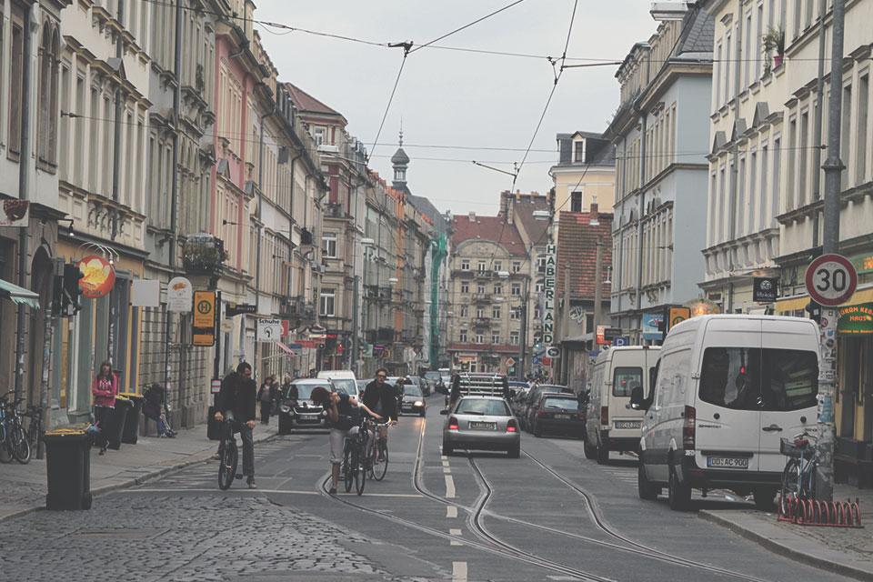 Arredores da Neustadt de Dresden