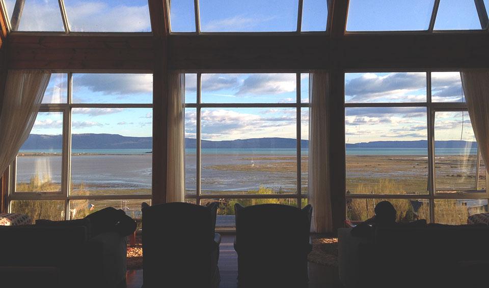 Vista do Hall do Hotel Terrazas del Calafate.