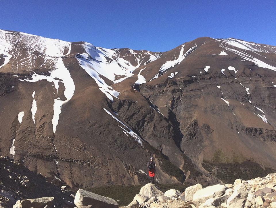 Trecho da trilha para a Base de las Torres