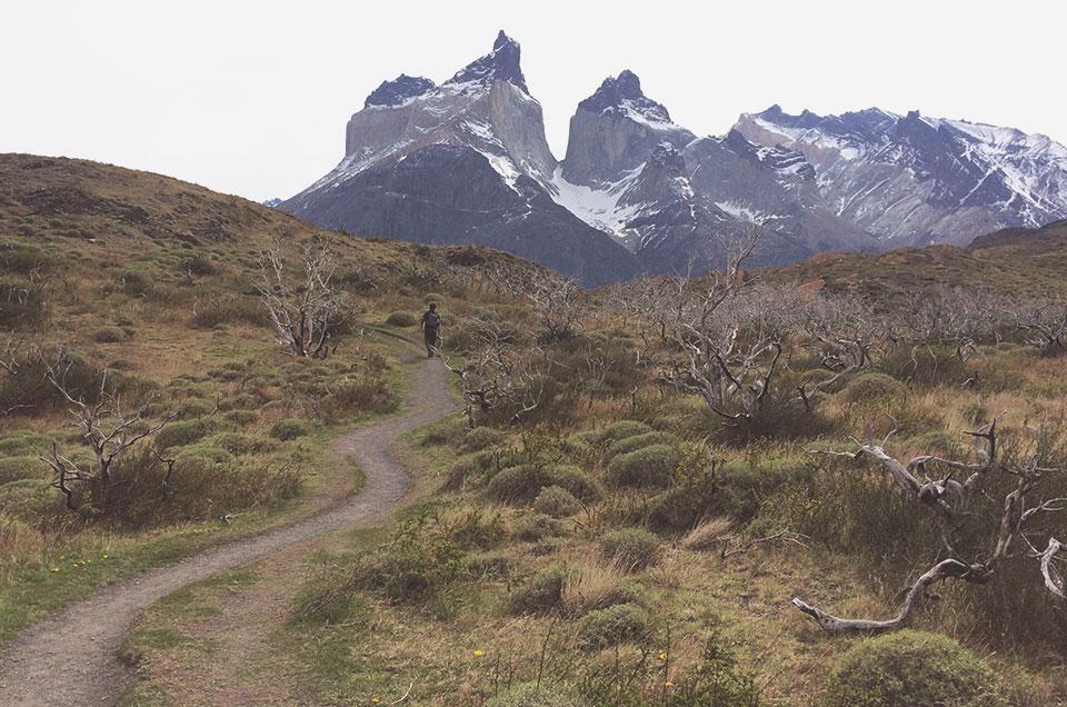 trilha para o mirante Los Cuenos