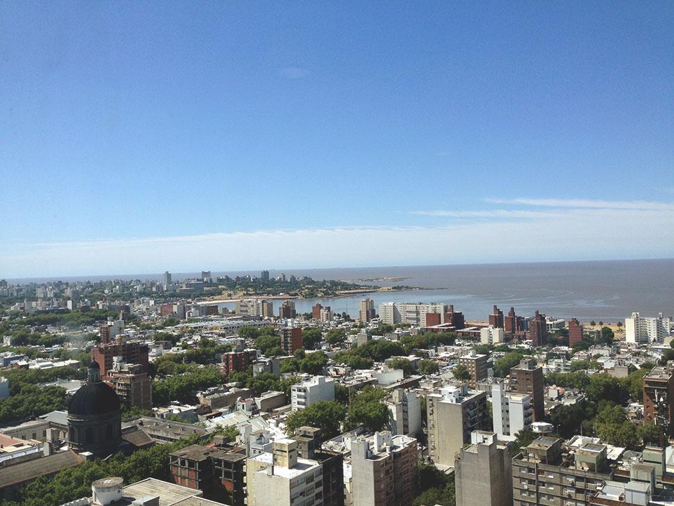 Vista do Mirador de la Intendencia de Montevideu