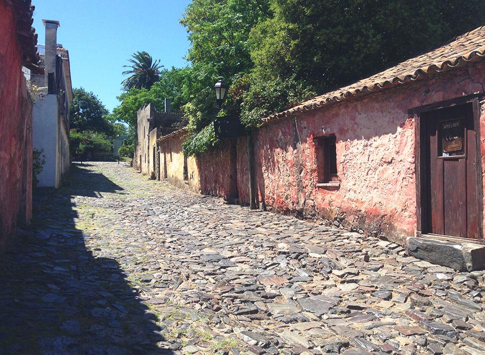 Famosa Calle de los Suspiros, construída por volta de 1.600 e com sua estrutura original preservada