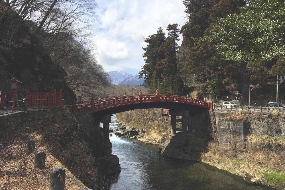 Ponte Shinkyo, uma das principais atrações em Nikko.