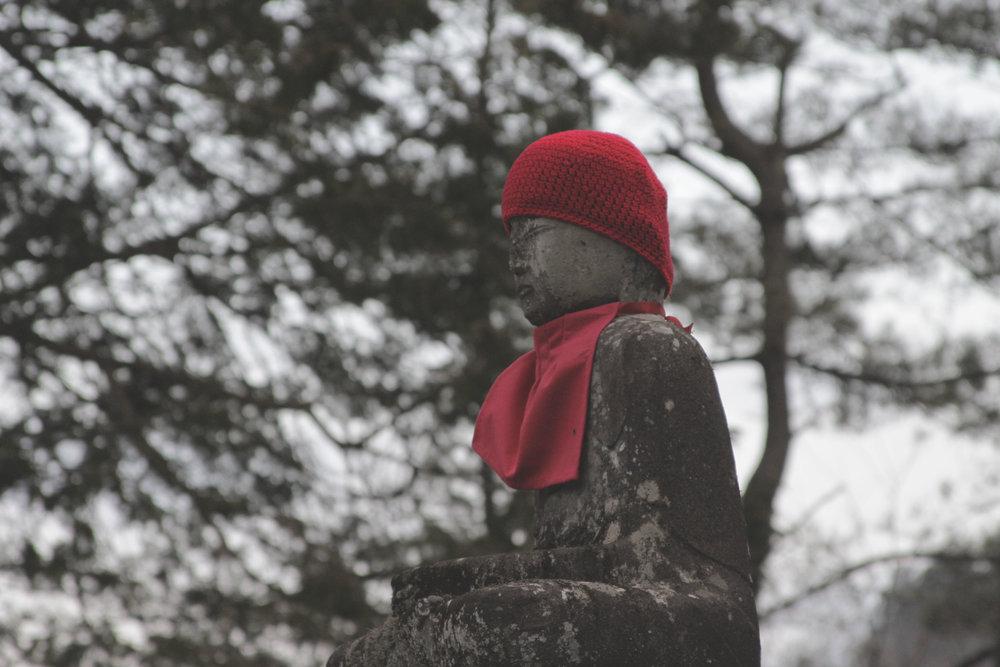 Estátua Jizou Bosatsu.