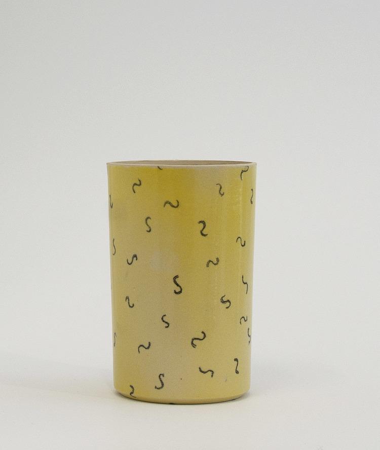 Ceramic Vase      Material:  Ceramics   Dimensions:  H: 15 cm/Ø: 9 cm    2015     Price:  850 DKK / 120€