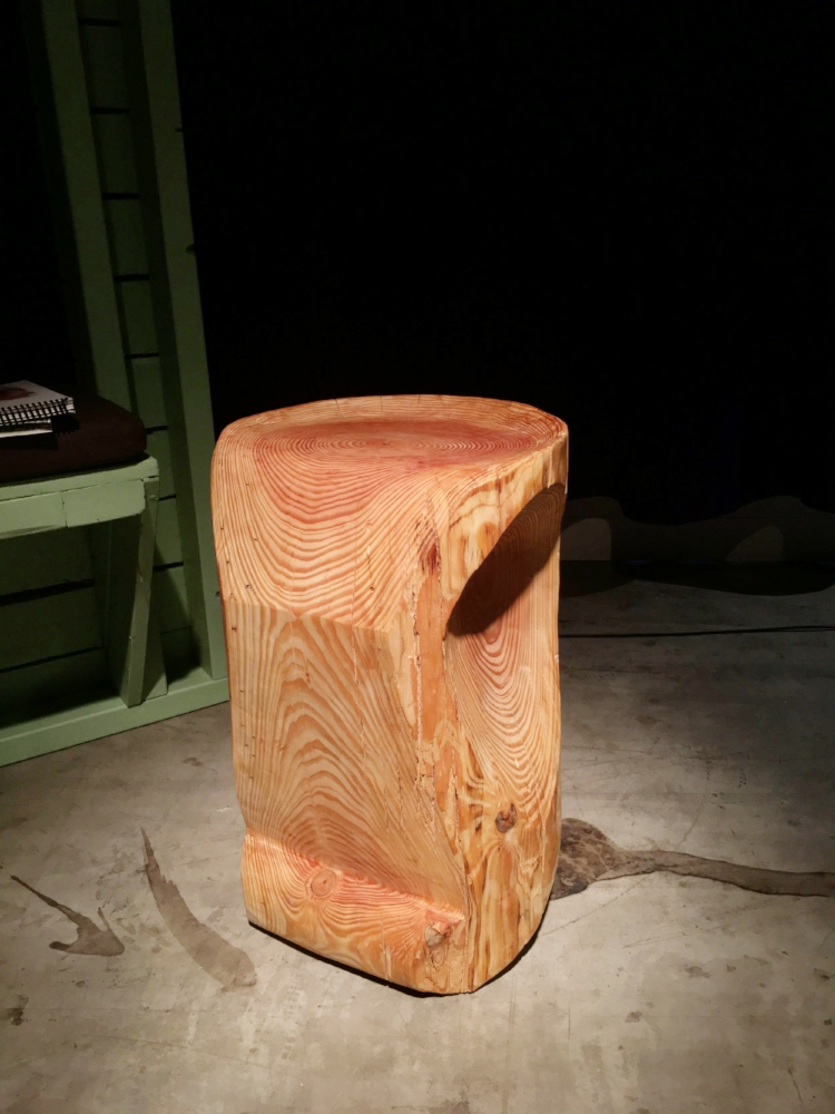 Stool - Douglas Pine 2017Edition of 1555 x 40 x 40 cm Price upon request