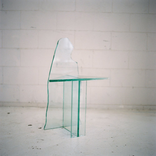 Glass Chair 2 - by Guillermo Santoma Materials: Glass Dimensions: 77 x 35,5 x 53 cm 2017 Price on Request