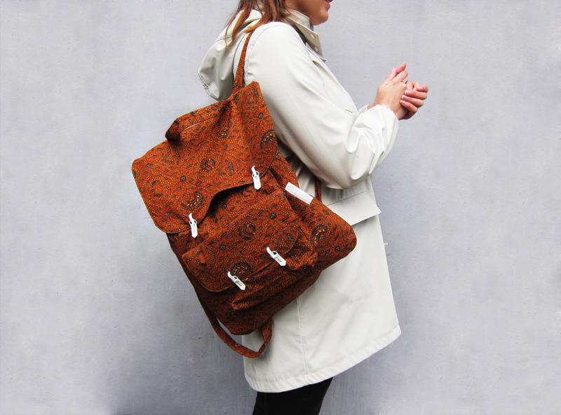 LARAS X Lizet van der Knaap backpack batik brown.jpg
