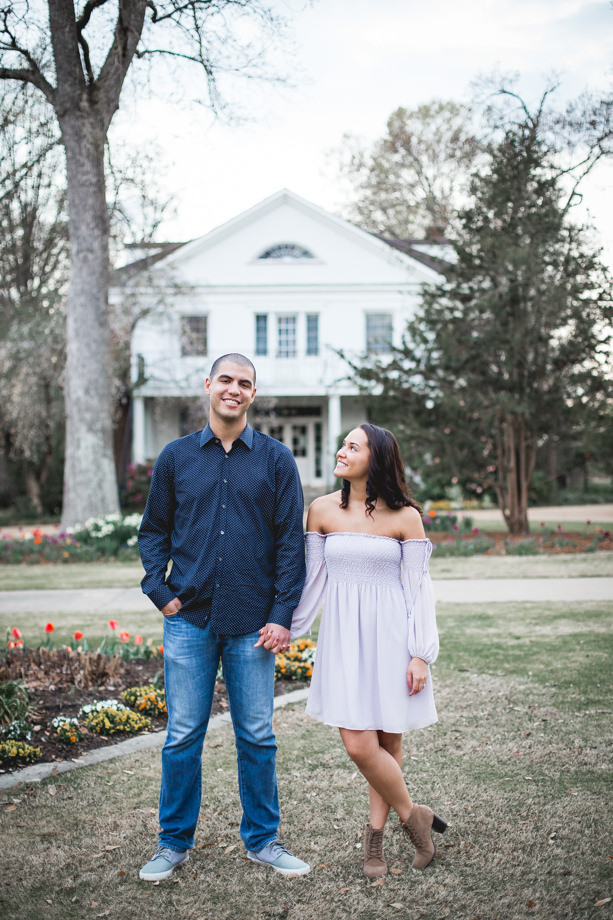 spring-engagement-session-in-raleigh