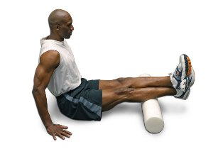 foam roller calves