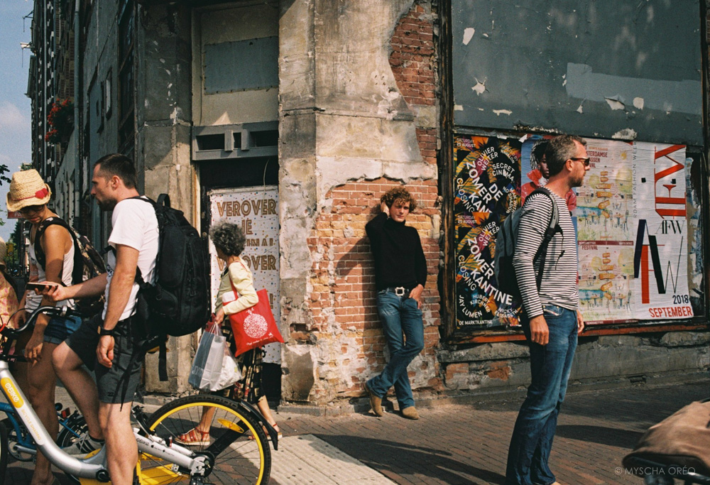 The Summer Streets of Amsterdam