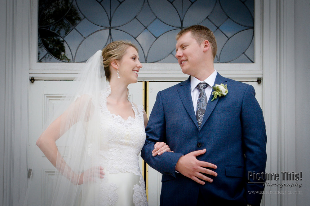 Whitney & Michael at Peachtree Presbyterian Church