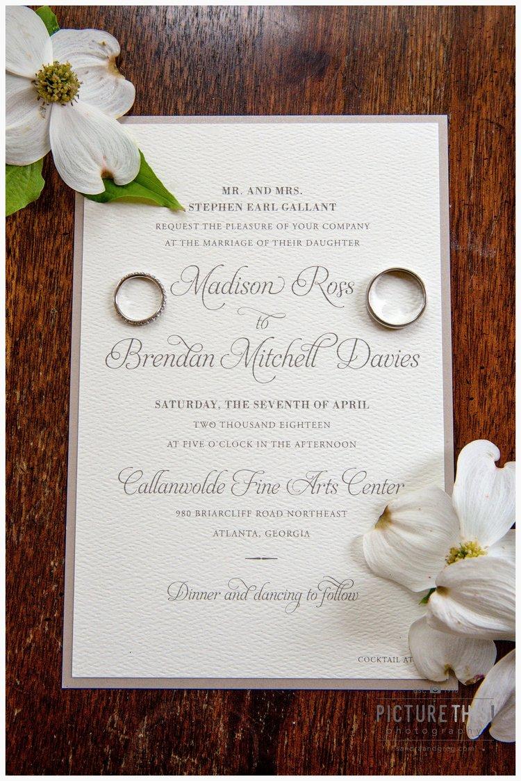 Atlanta Wedding Photographers | Picture This! Photography | Sandra ...