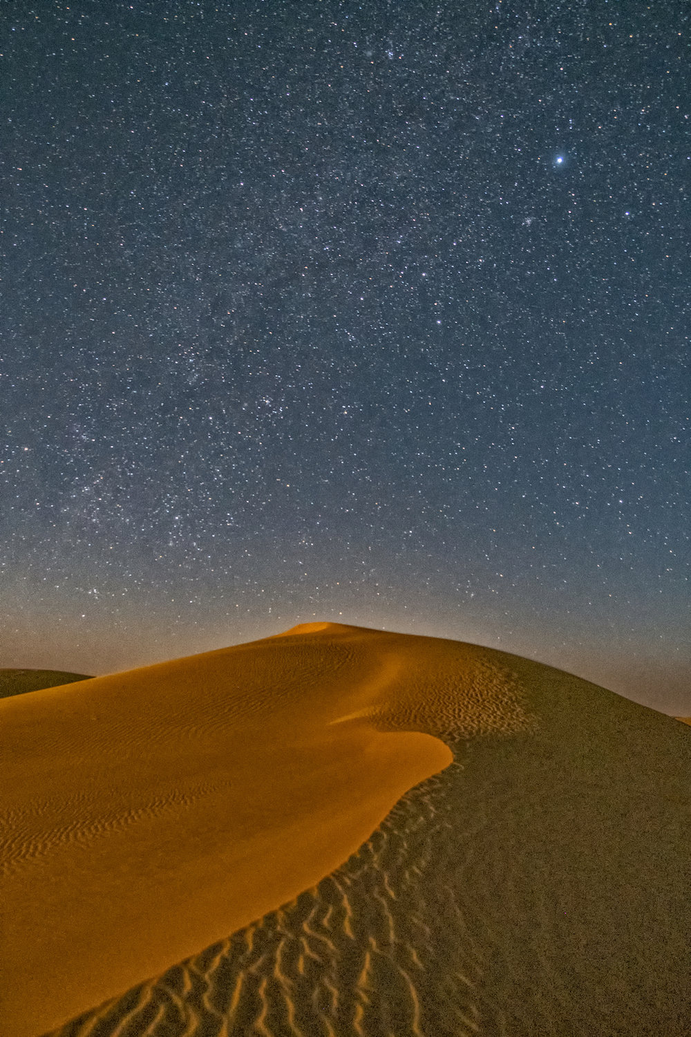 Dunes at Midnight