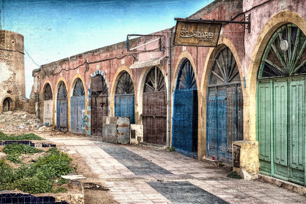 Essaouira Abandoned shops