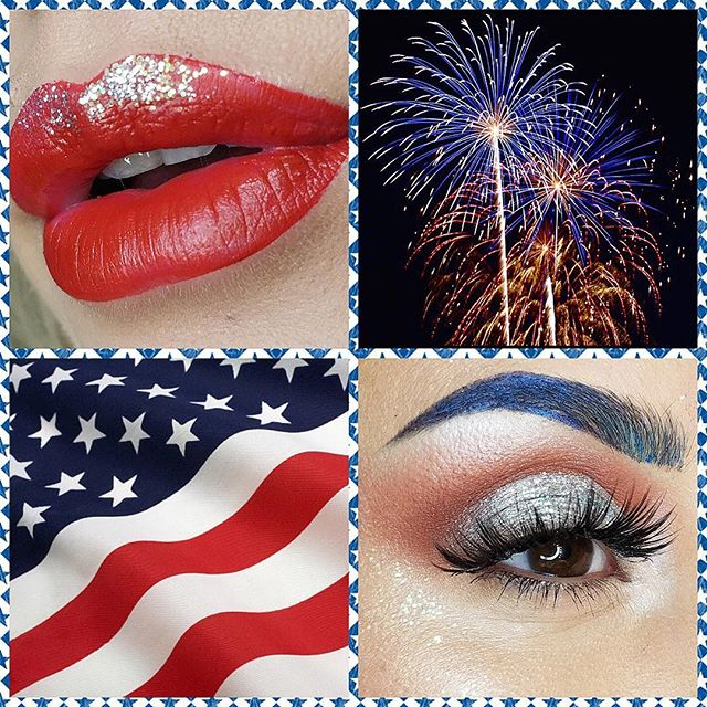 Happy 4th of July from Tat2u Makeup! #Tat2uMakeup #TAT2U #happy4thofjuly