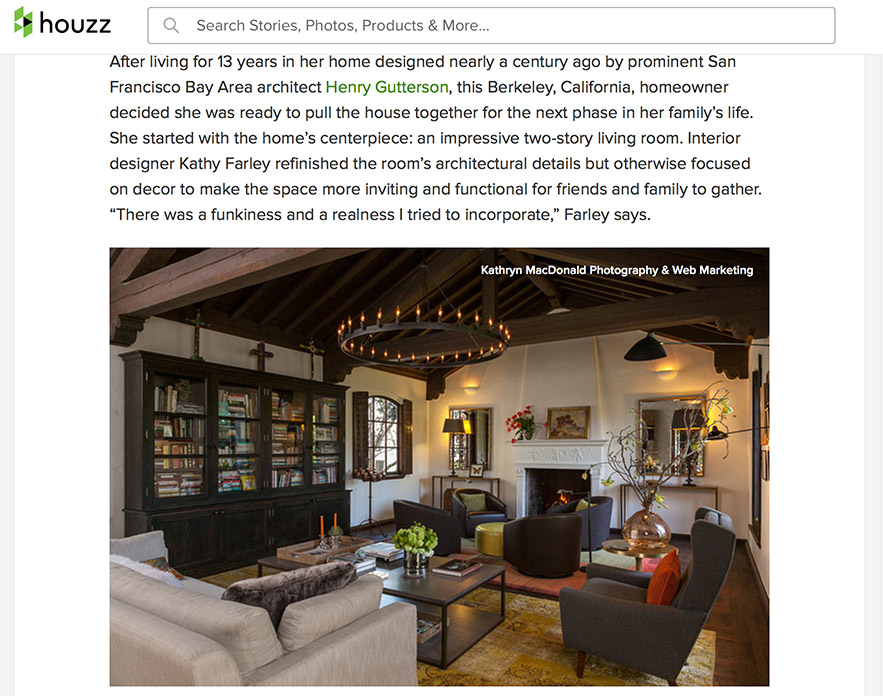 A snippet of the feature story about this Henry gutterson architectural gem in the berkeley hills.