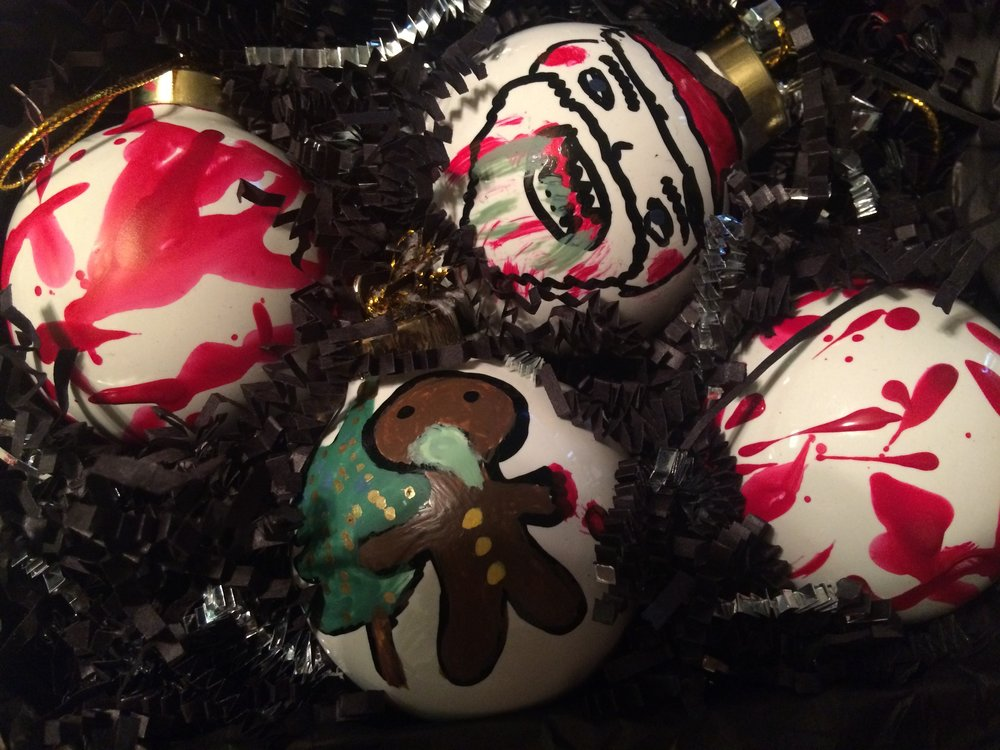 Zombie Christmas Ornaments — Madebymandi.com