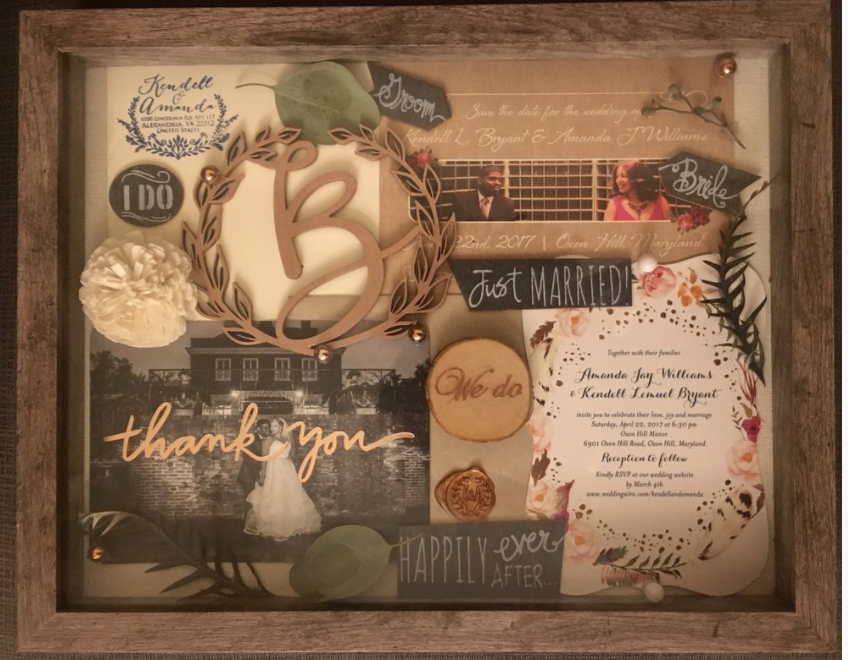 Wedding Keepsake Shadow Box Madebymandi Com