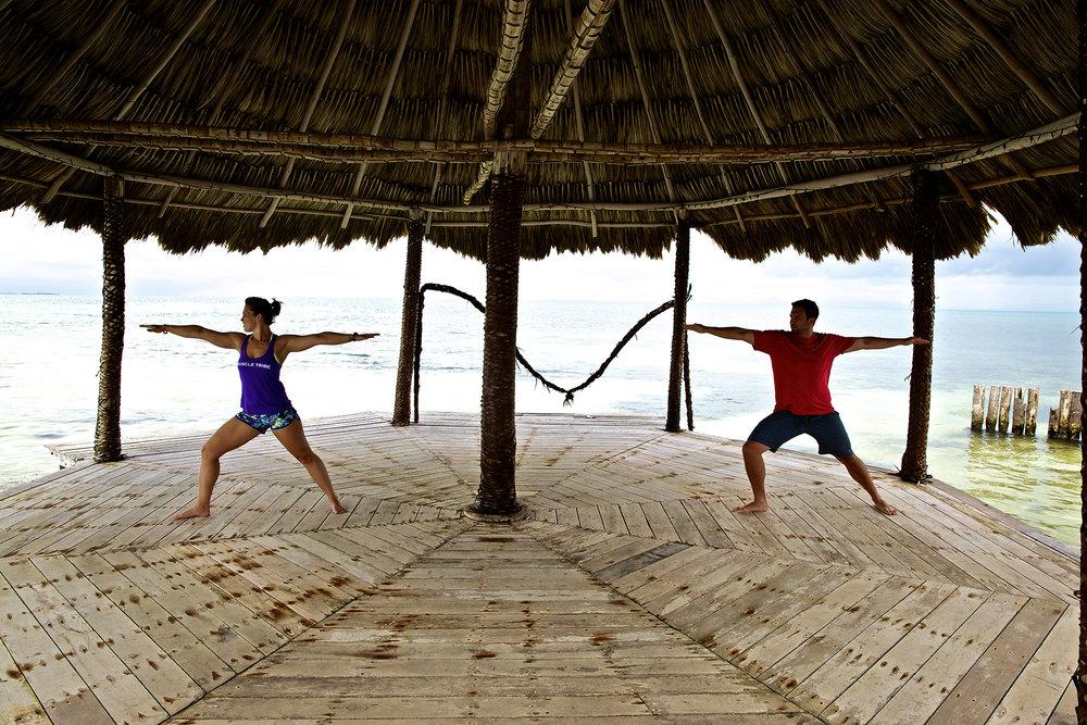 Thatch Caye Yoga Retreats -